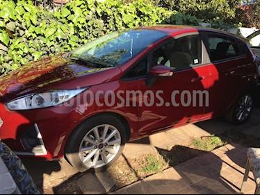 Ford Fiesta 1.6L SE  usado (2019) color Rojo precio $7.290.000