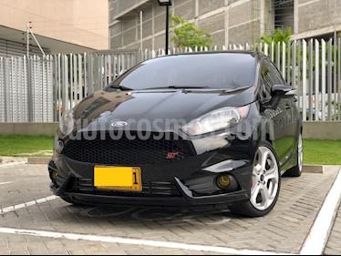 Ford Fiesta 5P usado (2017) color Negro precio $29.640.000
