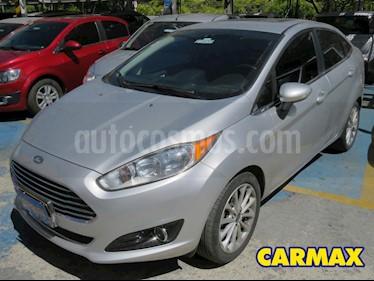 Ford Fiesta Titanium Aut usado (2017) color Plata precio $42.900.000