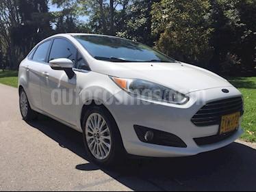 Ford Fiesta Titanium Aut usado (2014) color Blanco precio $34.900.000