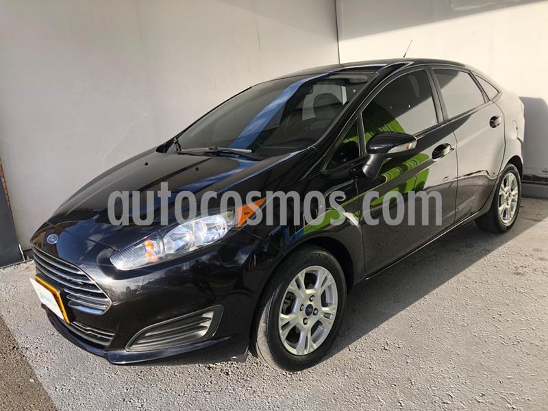 Ford Fiesta SE Aut usado (2015) color Negro precio $30.500.000