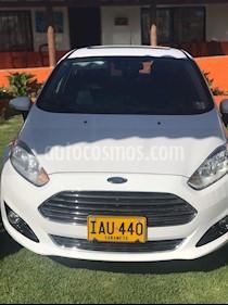 Ford Fiesta Titanium Aut usado (2015) color Blanco precio $37.900.000