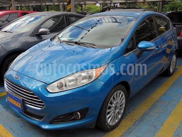 Foto venta Carro usado Ford Fiesta Titanium Aut (2014) color Azul precio $35.900.000