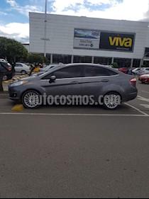 Foto venta Carro usado Ford Fiesta Titanium Aut (2014) color Gris Nocturno precio $31.000.000