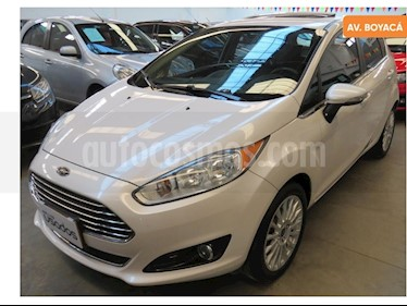 Foto venta Carro usado Ford Fiesta Titanium Aut (2016) color Blanco precio $38.700.000