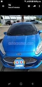 Ford Fiesta Titanium  usado (2014) color Azul precio u$s7.500