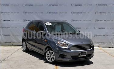Foto venta Auto usado Ford Figo Hatchback Energy Aut (2017) color Gris Hierro precio $200,000
