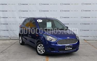 Foto venta Auto usado Ford Figo Hatchback Energy Aut (2017) color Azul precio $169,000