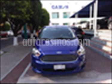 Ford Figo Hatchback ENERGY TA 5 PUERTAS usado (2017) color Azul Electrico precio $169,000
