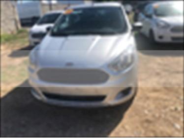 Ford Figo Hatchback ENERGY TA 5 PUERTAS usado (2017) color Plata precio $185,000