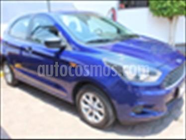 Ford Figo Hatchback ENERGY TA 5 PUERTAS usado (2016) color Azul Electrico precio $140,000