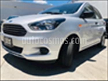 Foto venta Auto usado Ford Figo Hatchback ENERGY TM 5 PTAS (2018) color Plata precio $173,000