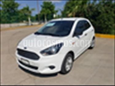 Foto Ford Figo Hatchback ENERGY TM 5 PUERTAS usado (2017) color Blanco precio $148,000