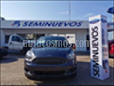 Foto venta Auto usado Ford Figo Hatchback ENERGY TM 5 PUERTAS (2017) color Gris precio $165,000
