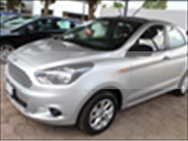 Foto venta Auto usado Ford Figo Hatchback ENERGY TM 5 PUERTAS (2017) color Plata precio $165,000