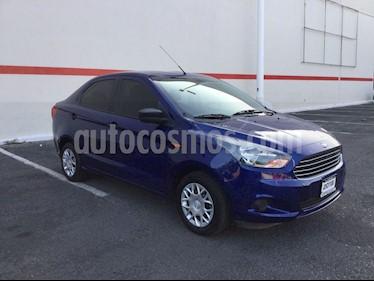 Foto venta Auto usado Ford Figo Hatchback FIGO IMPULSE TM A/A (2018) color Azul precio $170,000