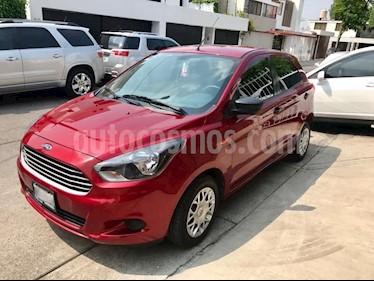 Ford Figo Hatchback Impulse A/A usado (2016) color Rojo Rubi precio $150,000