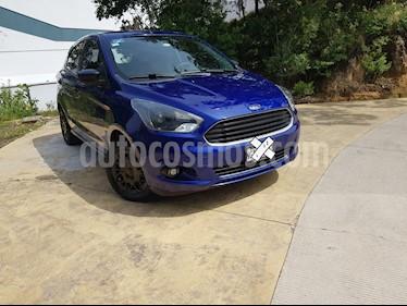 Ford Figo Hatchback Impulse A/A usado (2016) color Azul precio $135,000