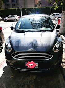 Ford Figo Hatchback Impulse A/A usado (2016) color Gris precio $129,500