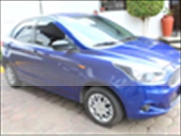 Foto venta Auto usado Ford Figo Hatchback Impulse A/A (2017) color Azul Electrico precio $135,000