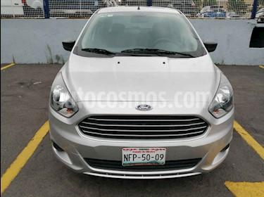 Foto venta Auto usado Ford Figo Hatchback Impulse Aut A/A (2017) color Plata precio $185,000