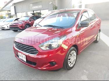 Foto venta Auto usado Ford Figo Hatchback Impulse Aut A/A (2017) color Rojo precio $159,000