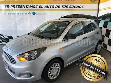 Foto venta Auto Seminuevo Ford Figo Hatchback Impulse Aut A/A (2016) color Plata precio $145,000