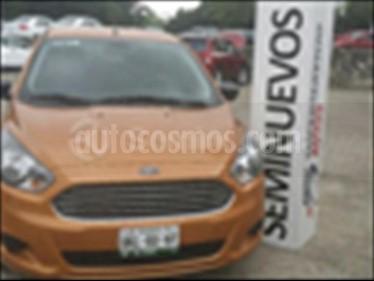 Ford Figo Hatchback IMPULSE TA A/A 5 PUERTAS usado (2016) color Naranja precio $160,000