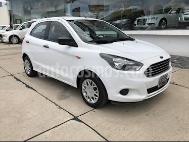 Foto venta Auto Seminuevo Ford Figo Hatchback IMPULSE TM A/A 5 puertas (2017) color Blanco precio $145,000