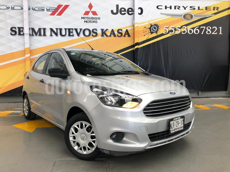 Ford Figo Hatchback Impulse A/A usado (2016) color Plata Dorado precio $125,000