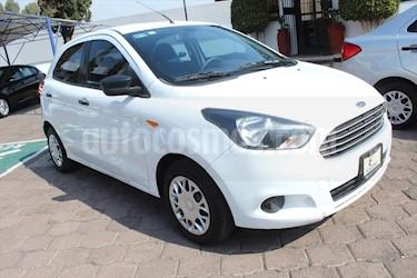Ford Figo Hatchback IMPULSE TA A/A 5 PUERTAS usado (2017) color Blanco precio $139,000