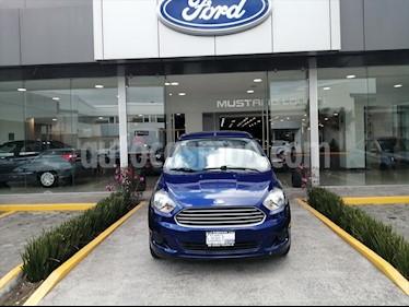 Ford Figo Hatchback ENERGY TM 5 PTAS usado (2018) color Azul Marino precio $159,000