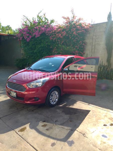 Ford Figo Hatchback Impulse A/A usado (2016) color Rojo Rubi precio $115,000