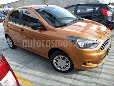 Ford Figo Hatchback Impulse A/A usado (2016) color Naranja precio $130,000