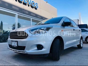 Ford Figo Hatchback ENERGY TM 5 PUERTAS usado (2017) color Plata precio $149,000