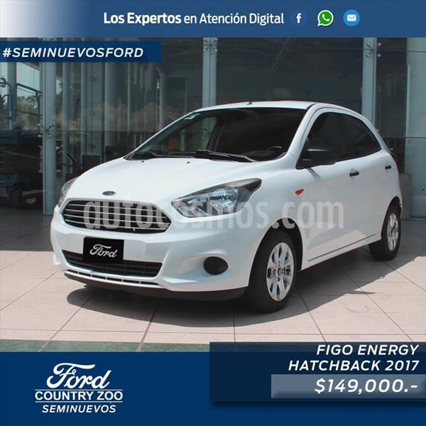 Ford Figo Hatchback ENERGY TM 5 PUERTAS usado (2017) color Blanco precio $149,000