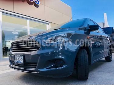 Ford Figo Hatchback IMPULSE TM A/A 5 PUERTAS usado (2016) color Gris precio $135,000
