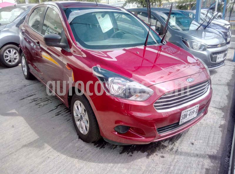Ford Figo Hatchback Energy usado (2017) color Rojo precio $159,900