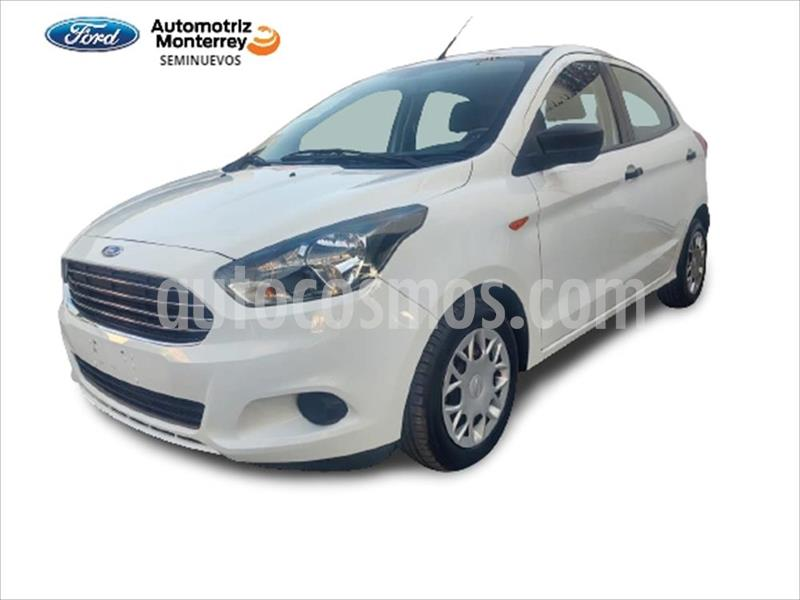 Ford Figo Hatchback IMPULSE TA A/A 5 PUERTAS usado (2017) color Blanco precio $149,900