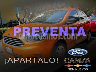 Ford Figo Hatchback Impulse A/A usado (2016) color Naranja precio $129,000