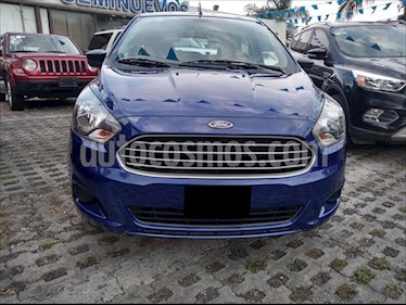 Ford Figo Hatchback ENERGY TA 5 PUERTAS W/DEFROSTER usado (2016) color Azul Electrico precio $130,000