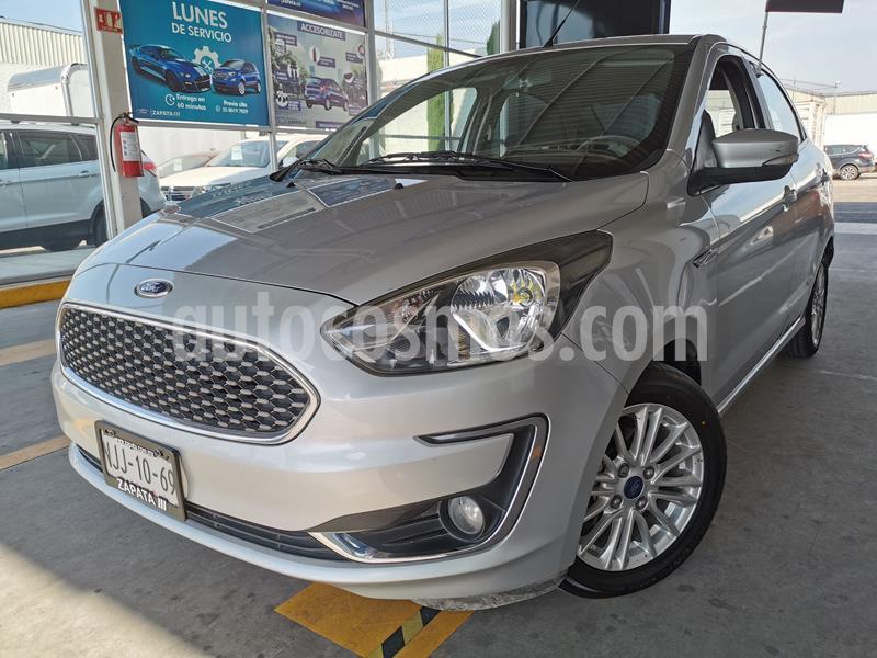 Foto Ford Figo Hatchback Aspire usado (2019) color Plata Estelar precio $185,000