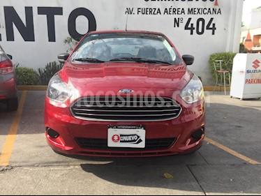 Ford Figo Hatchback Energy usado (2018) color Rojo Rubi precio $160,000