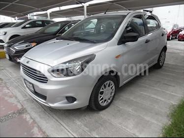 Ford Figo Hatchback IMPULSE TM A/A 5 PUERTAS usado (2016) color Plata precio $135,000