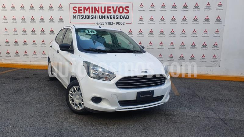 Ford Figo Hatchback Impulse A/A usado (2016) color Blanco Oxford precio $125,000