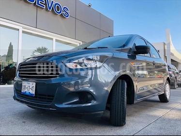 Ford Figo Hatchback IMPULSE TM A/A 5 PUERTAS usado (2016) color Gris Oscuro precio $135,000
