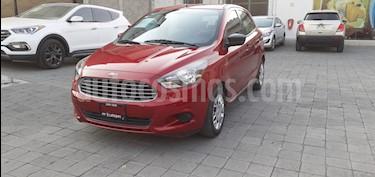 Ford Figo Hatchback Impulse A/A usado (2016) color Rojo Rubi precio $135,000