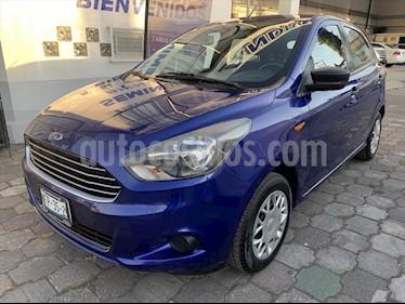 Ford Figo Hatchback ENERGY TM 5 PUERTAS W/DEFROSTER usado (2016) color Azul Marino precio $124,500