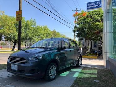 Ford Figo Hatchback IMPULSE TM A/A 5 PUERTAS usado (2017) color Gris precio $145,000