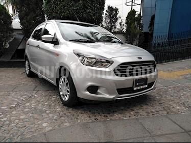 Ford Figo Hatchback IMPULSE TM A/A 5 PUERTAS usado (2017) color Plata precio $135,000